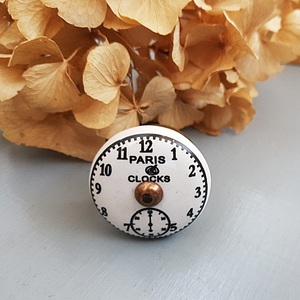 Ceramic Clock Knobs - Paris