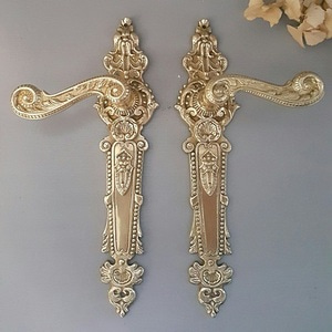 Brass Lever Handle-ANQ290 Pair