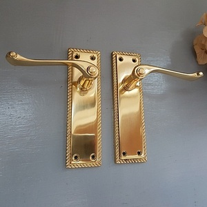 Brass Lever Handle -GE150 Pair