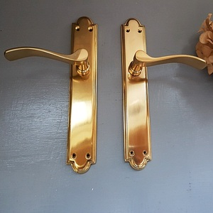 Brass Lever Handle-IN242 Pair
