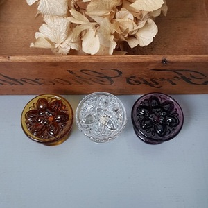 Daisy Glass Knobs(3종)