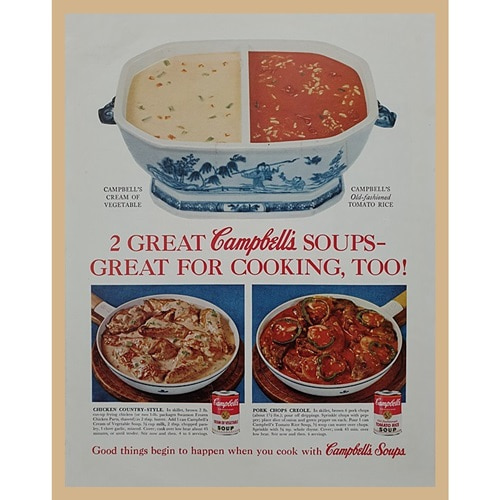 1961' 2 GREAT SOUPS