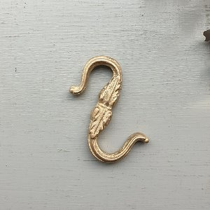 Brass French S-Hook