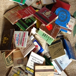 Vintage Advertising matches (7 SET)