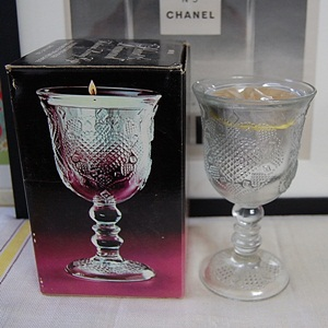 VINTAGE AVON HEART&DIAMOND CANDLE