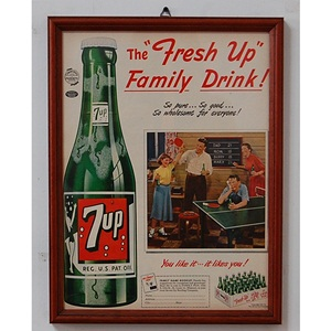 1951' 7up Family Drink