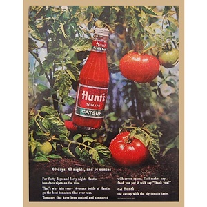 1963' Hunt's for the best