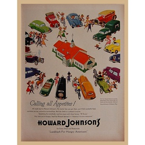 1954' HOWARD JOHNSON'S