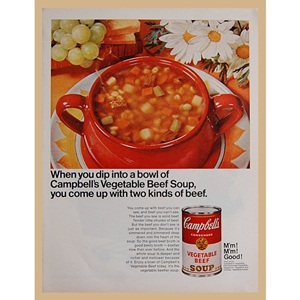 1968' Campbell's  beef