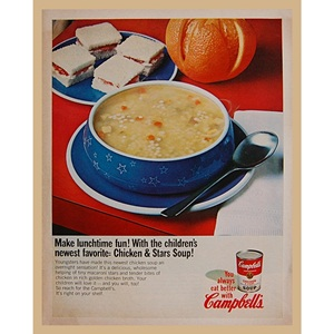 1966' Campbell's lunchtime