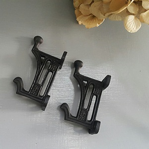 Iron Black Matt hook - Shelf