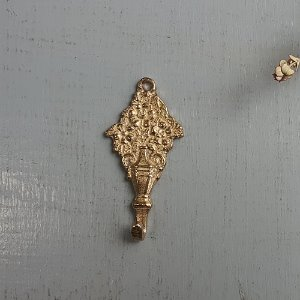 Brass picture wall hook